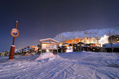 Boarderweek, Val Thorens, France Imagem de Stock