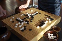 boardgame汉语去 免版税库存照片