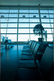 Airport Waiting Area Royalty Free Stock Photo