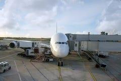 Boarding a big Airbus Stock Photos