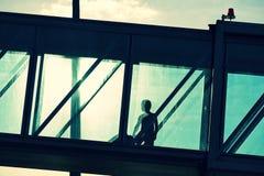 Boarding bridge Stock Photos