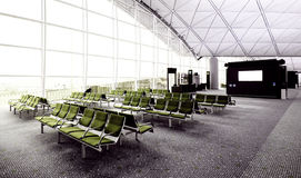 Boarding Lounge Stock Photo