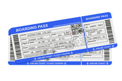 Boarding pass tickets Stock Images