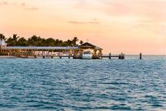 Boarding Sunset Cruise Royalty Free Stock Image