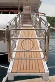 Boarding walkway Royalty Free Stock Photo