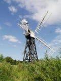 Boardmans Drainage Mill, Norfolk Broads Stock Images