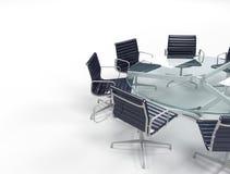 Boardroom. Image of empty boardroom meeting area Stock Image