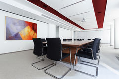 Boardroom in the business centre Stock Photo
