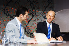 Boardroom Business Meeting Stock Photo