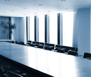 Boardroom conference table Royalty Free Stock Photography