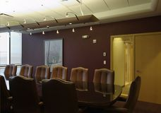 Boardroom empty meeting room Royalty Free Stock Photo