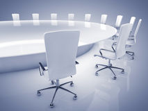Boardroom interior Stock Photos