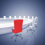 Boardroom interior Royalty Free Stock Photos