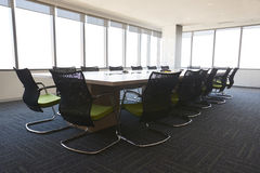 Boardroom Of Modern Office With No People Royalty Free Stock Image