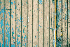 Boards covered with old paint Royalty Free Stock Photography
