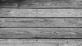 Boards. Deck boards in black and white Royalty Free Stock Images