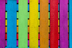 Boards in different colors Stock Photo