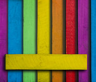 Boards in different colors Royalty Free Stock Photos