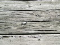 Boards from fishing pier Stock Image