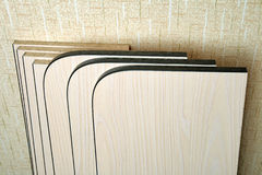 Boards for furniture assembly Royalty Free Stock Photos