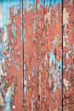 Boards with old paint chips Royalty Free Stock Photos