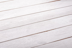 Boards painted in white texture close-up background Stock Images