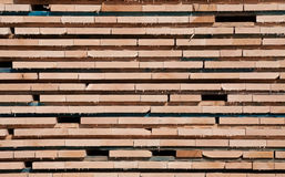 Boards, stacked Stock Photography