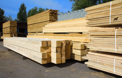 Boards in stock Royalty Free Stock Photo