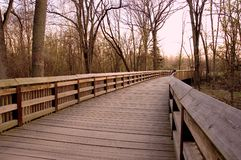 boardwalk Royaltyfri Foto