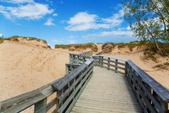 Boardwalk Royalty Free Stock Photo