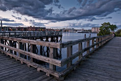 boardwalk Obraz Royalty Free