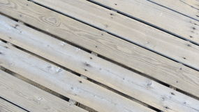 Boardwalk. Wood pattern weathered nail heads spacing, treated, texture, angled Stock Images