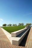 boardwalk Arkivfoto