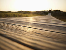 Boardwalk. Royalty Free Stock Images