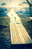 boardwalk Foto de Stock Royalty Free