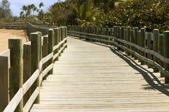 boardwalk Royaltyfri Fotografi