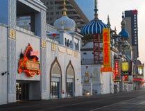 Boardwalk Atlantic City, New Jersey Royalty Free Stock Photos