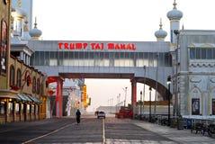 Boardwalk Atlantic City, NJ Stock Photography