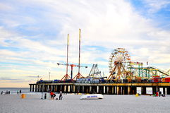 Boardwalk in Atlantic City, New Jersey Stock Images