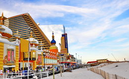 Boardwalk in Atlantic City, New Jersey