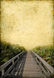 Boardwalk Background Stock Photo
