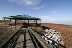 Boardwalk at Barr Lake State Park Royalty Free Stock Photo