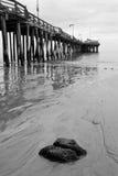 Boardwalk and beach Stock Photo