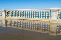 Boardwalk of Cadiz, Genoves Park, Andalusia, Spain Royalty Free Stock Photo