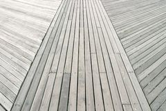 Boardwalk at Coney Island. Closeup of boardwalk at Coney Island royalty free stock photo