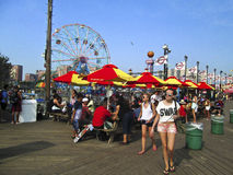 Boardwalk Coney Island Royalty Free Stock Image