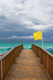 Boardwalk in Florida Royalty Free Stock Photos