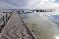 Boardwalk at Hamelin Pool, Shark Bay Royalty Free Stock Image