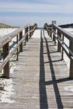 Boardwalk morze Fotografia Stock