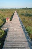 boardwalk niekończący się Fotografia Royalty Free